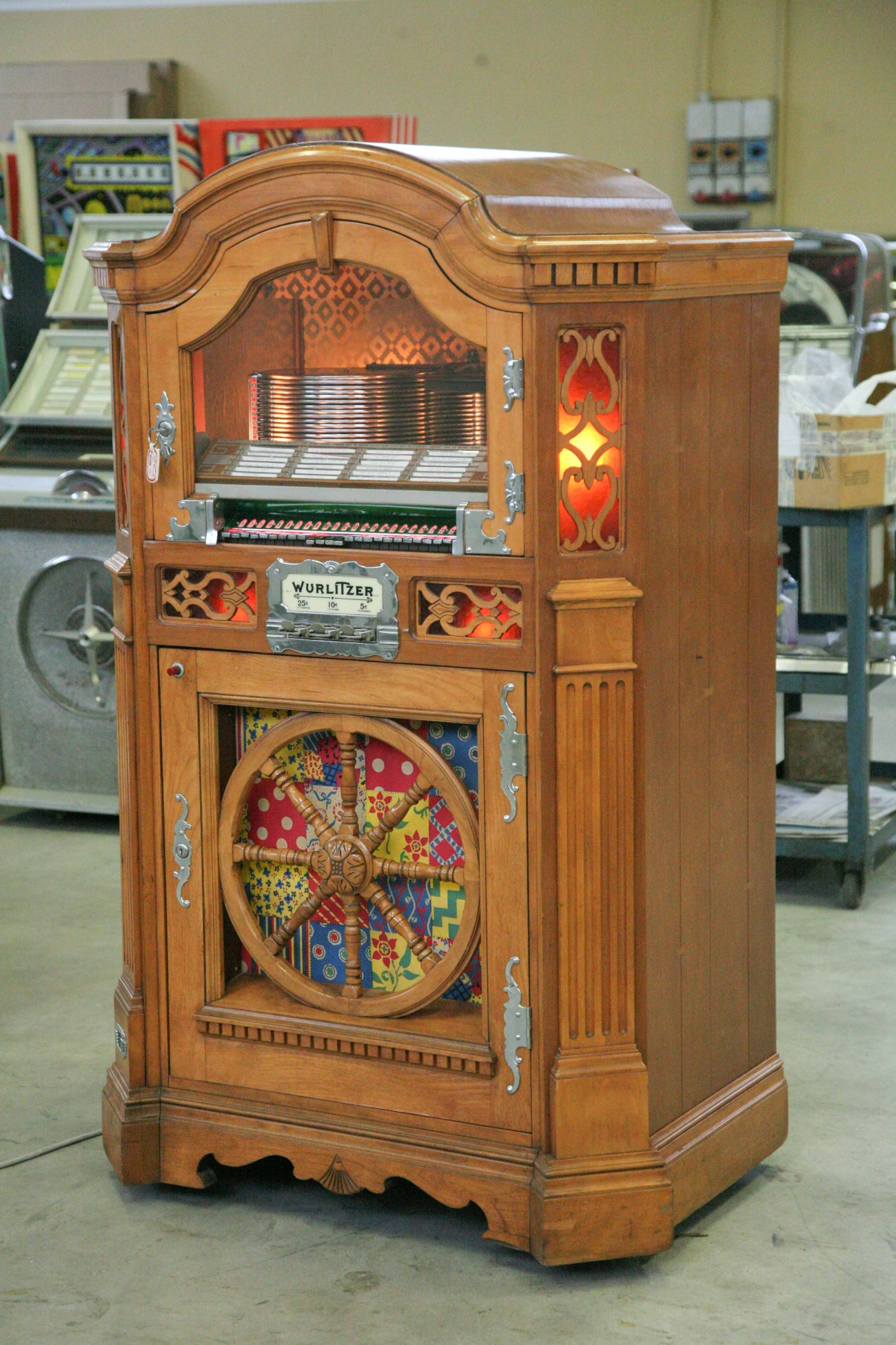 jukebox wurlitzer 780
