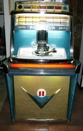jukebox rock-ola tempo I