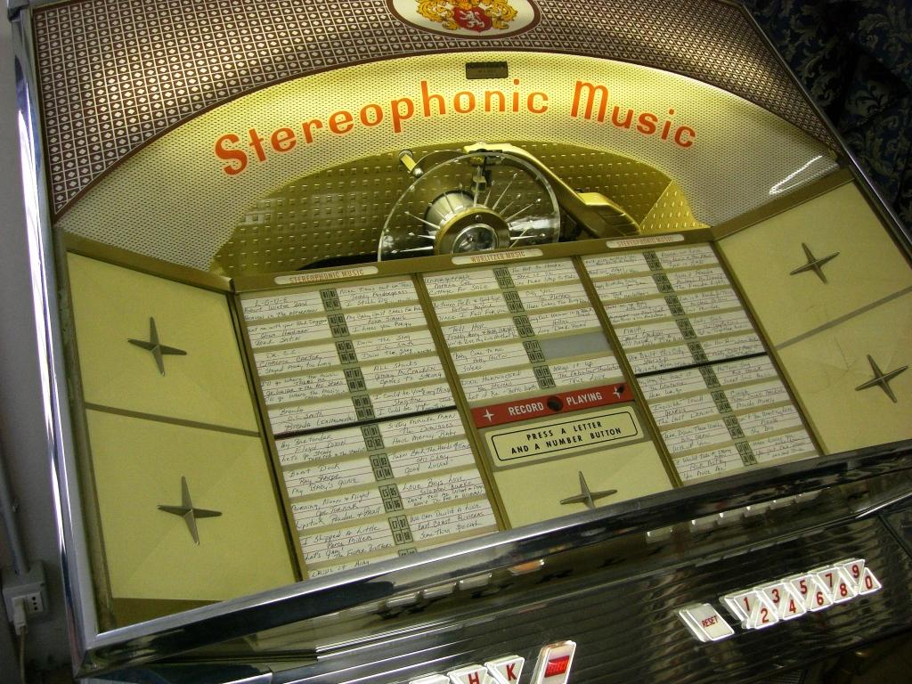 jukebox Wurlitzer 2500
