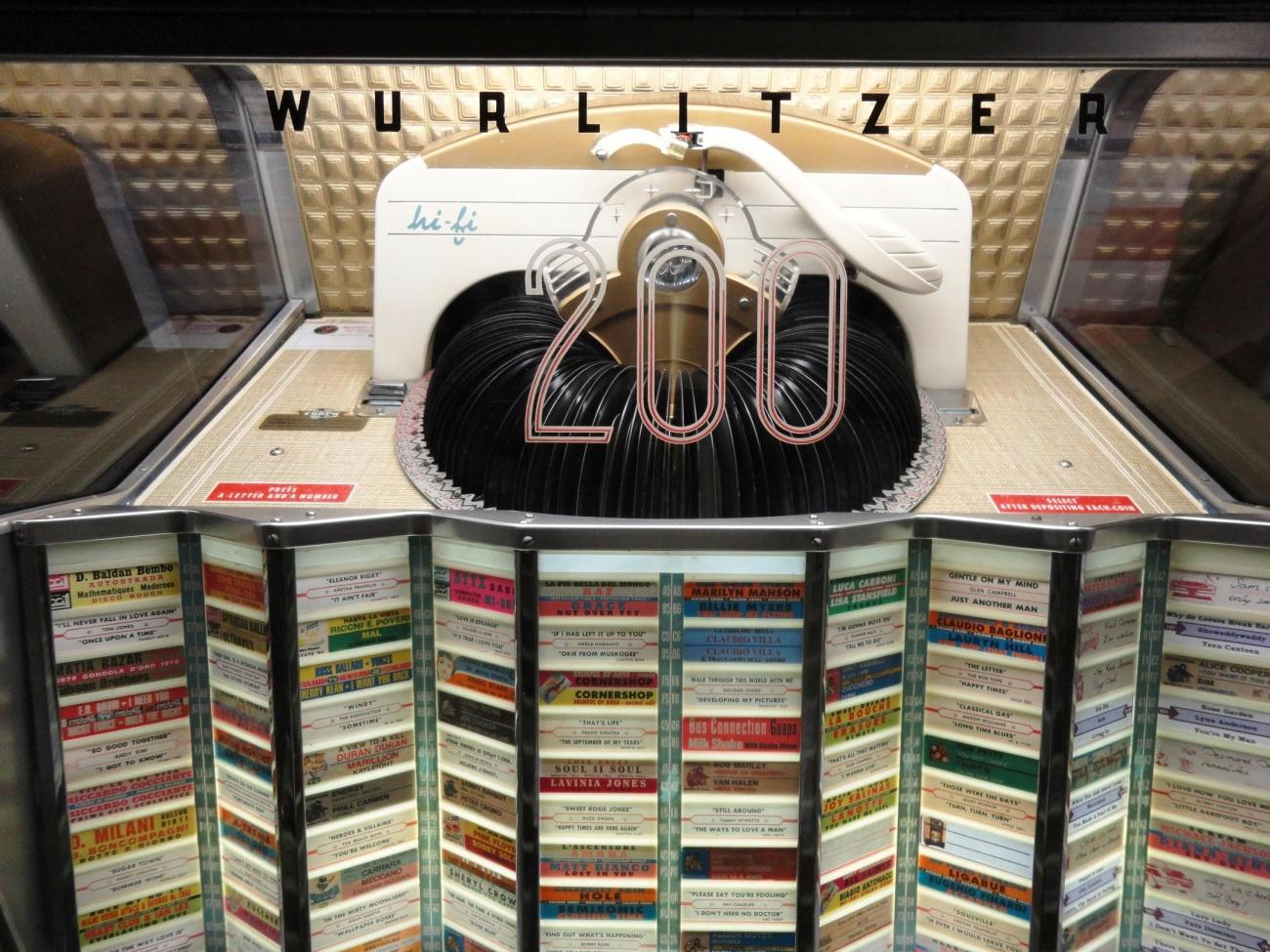 jukebox wurlitzer 2150