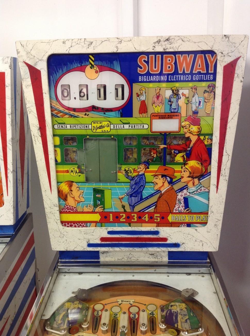 flipper subway gottlieb's