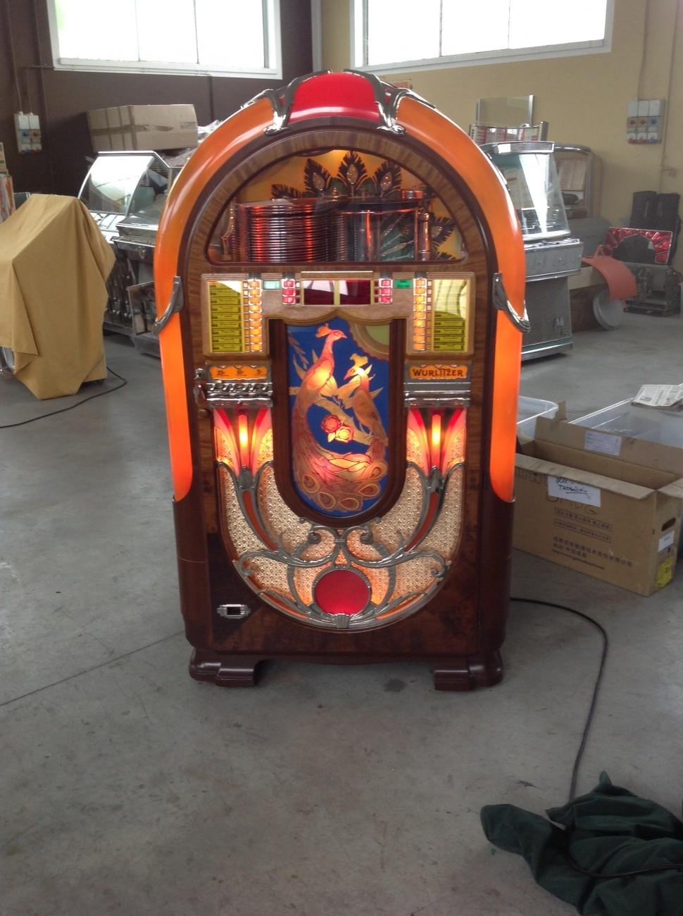 jukebox wurlitzer 850