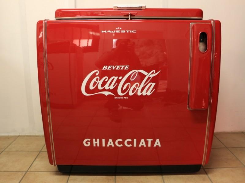 ghiacciaia Majestic Coca Cola Grande